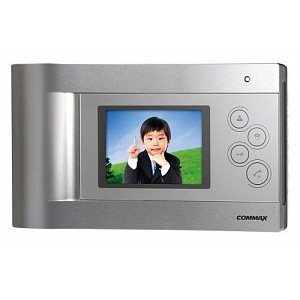 CDV-43Q (серебро) Commax видеодомофон