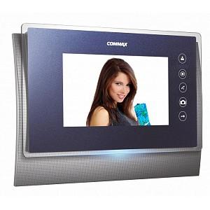 CDV-70UM (синий) Commax видеодомофон