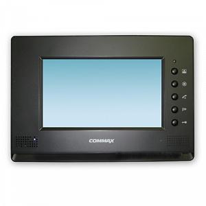 CDV-71AM (черный) Commax видеодомофон