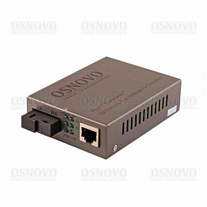 OMC-100-11S5b OSNOVO Медиаконвертер оптический