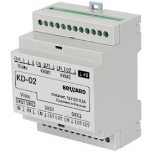 KD-02 Коммутатор многоабонентских домофонов