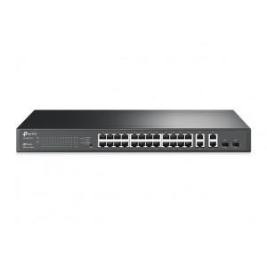 T1500-28TC (TL-SL2428) TP-Link 24 порта 10/100 Мбит/с и 4